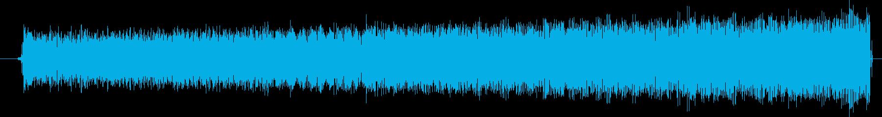 ギューーン(エネルギーを溜める音)の再生済みの波形