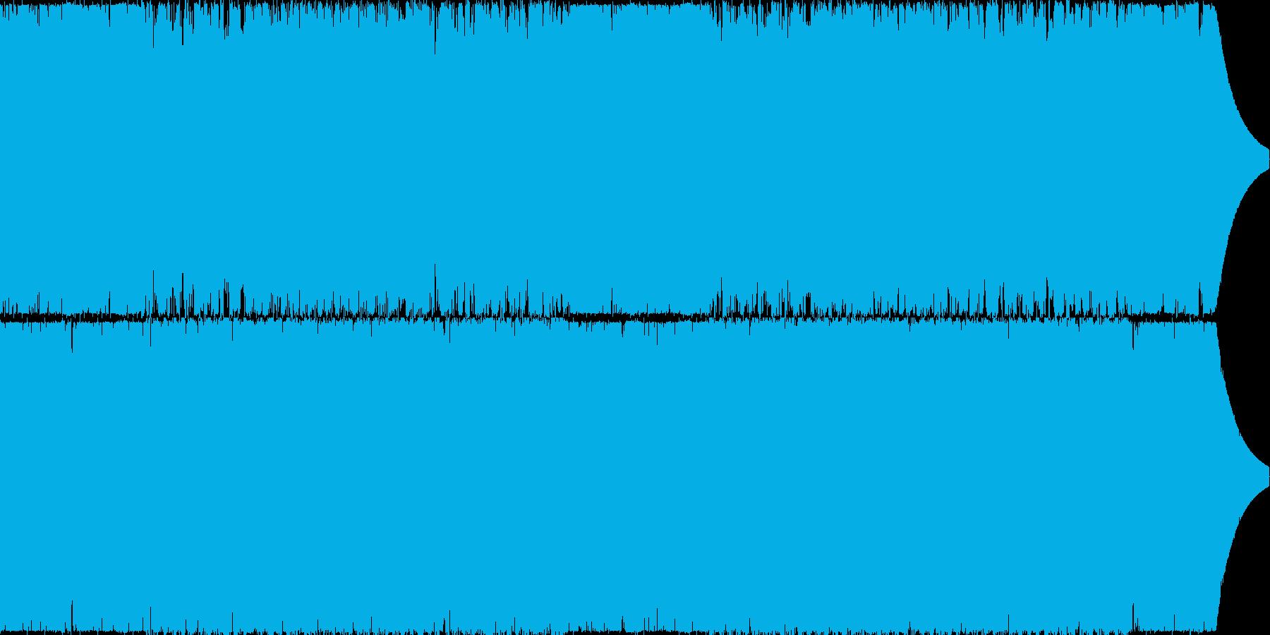 緊迫感のあるシーンで使えるエレクトロの再生済みの波形