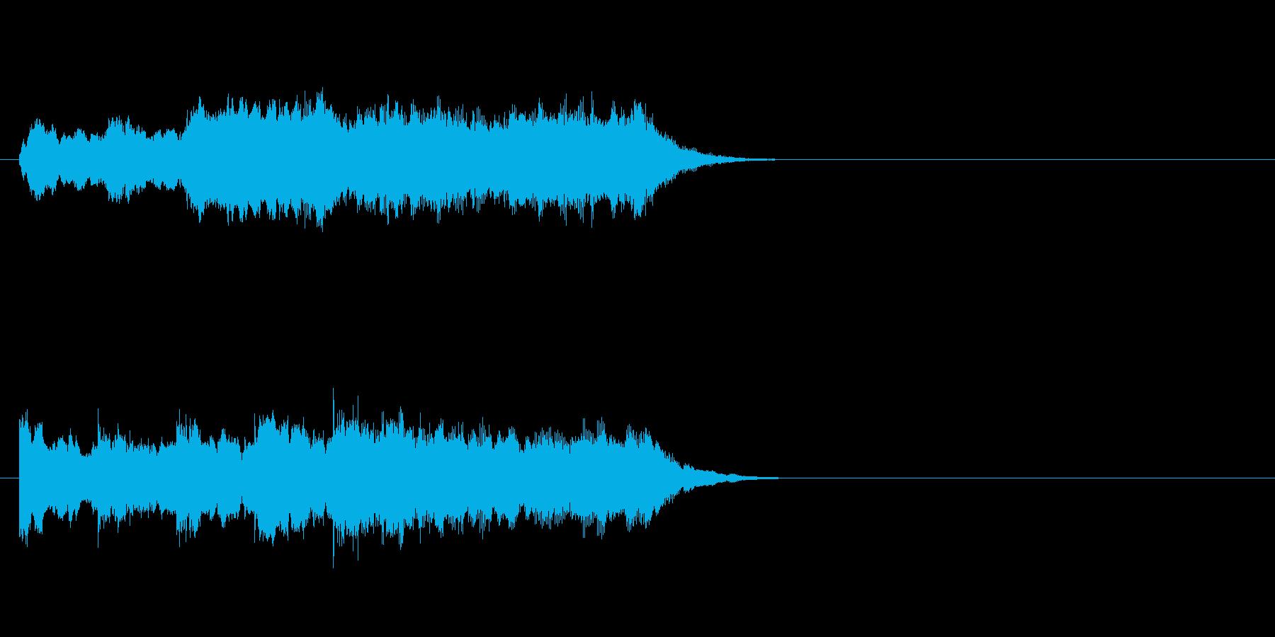 自然 不思議 幻想 神秘 浮遊 目覚めの再生済みの波形