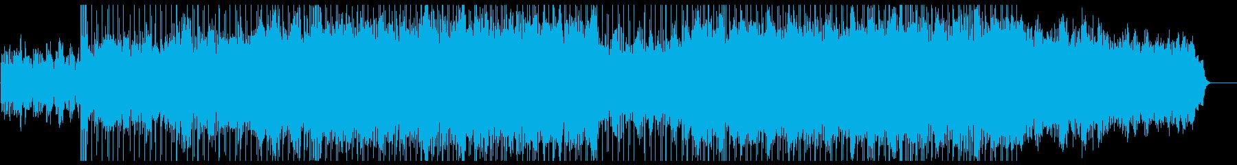 爽やかで軽快なシンセ主体のポップスの再生済みの波形