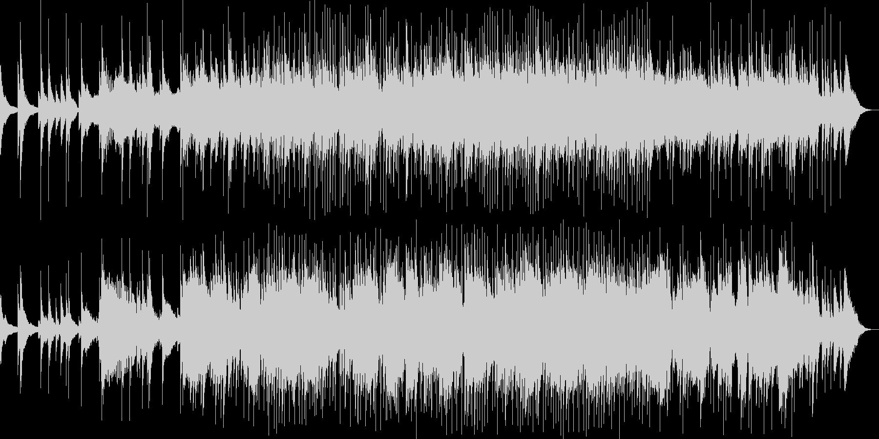和楽器とスローグルーヴが融合した心地よさの未再生の波形