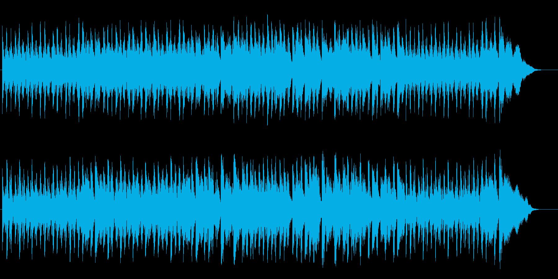 おもちゃ系リズミカルピアノ♪の再生済みの波形