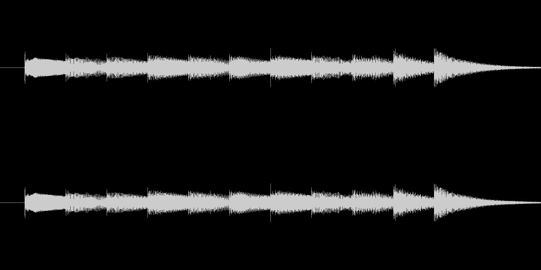 3拍子 軽やかに流れるベル音  オルゴ…の未再生の波形