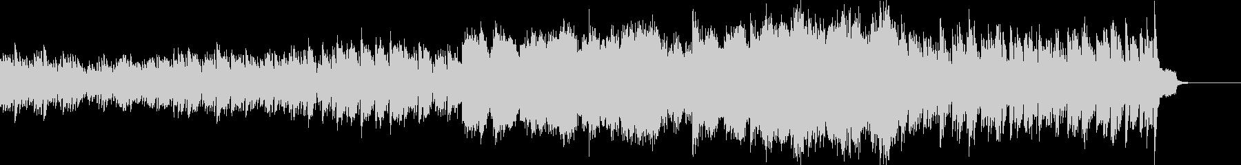 波のようなピアノの映像用BGMの未再生の波形