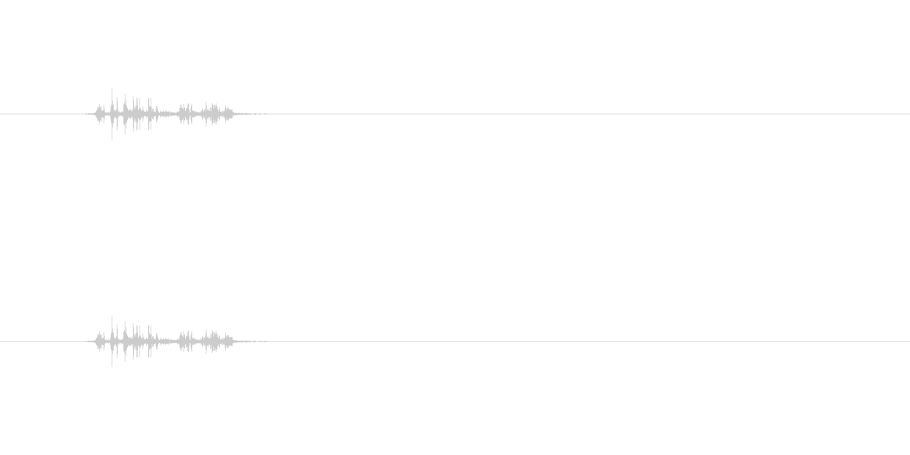 【本02-4(パラパラ)】の未再生の波形