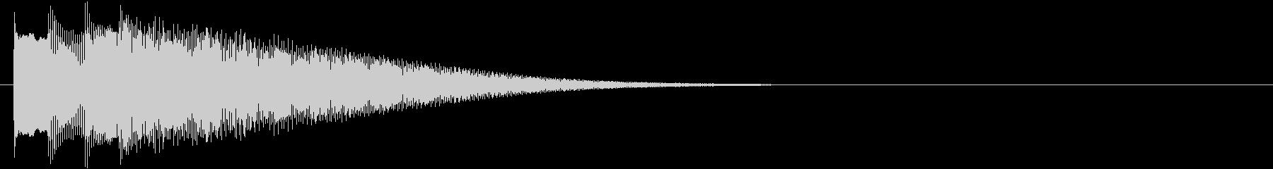 フレーズ系03 文字、スーパー表示(小)の未再生の波形