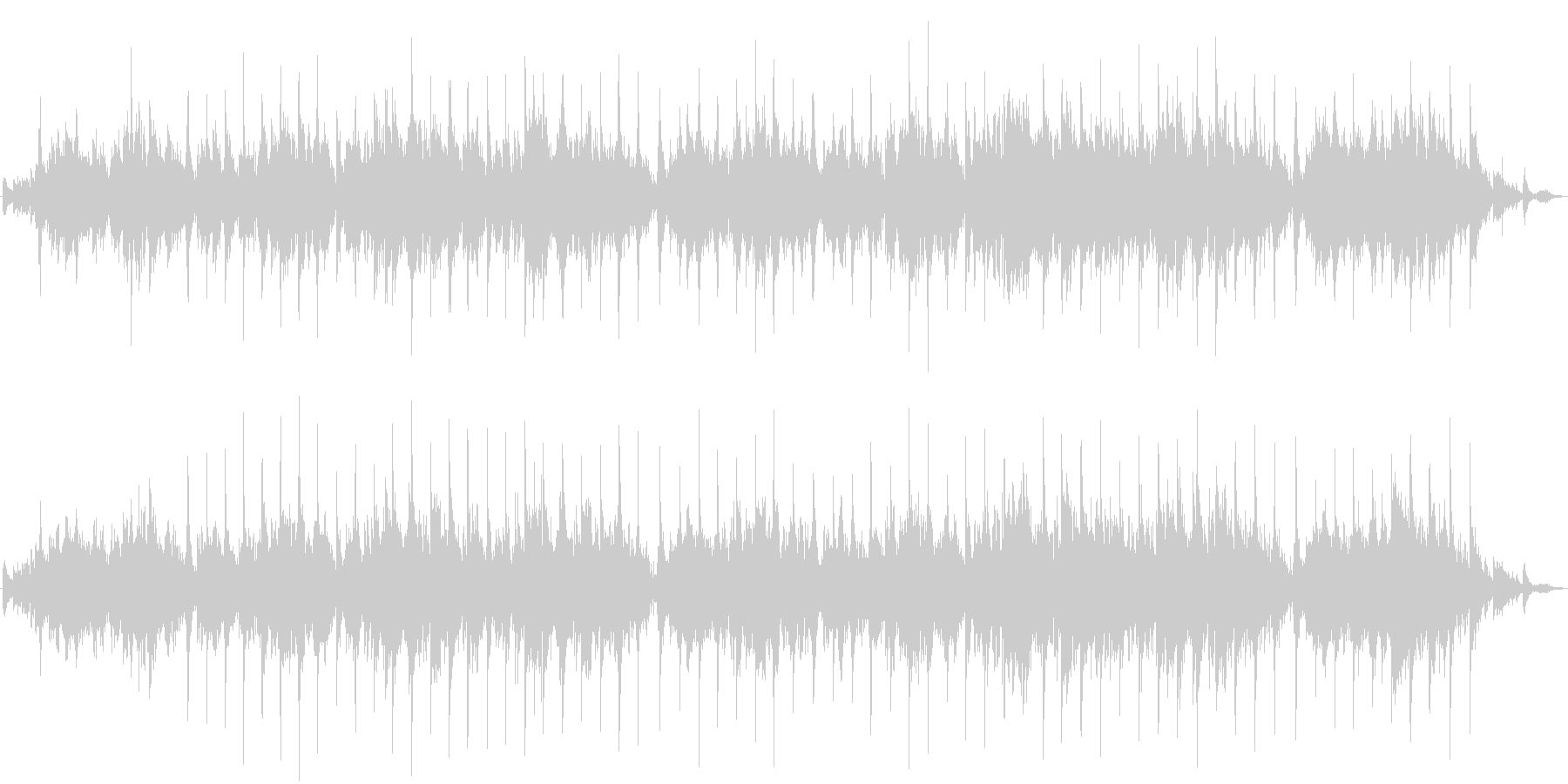 二胡の生演奏による切なくゆったりした曲の未再生の波形