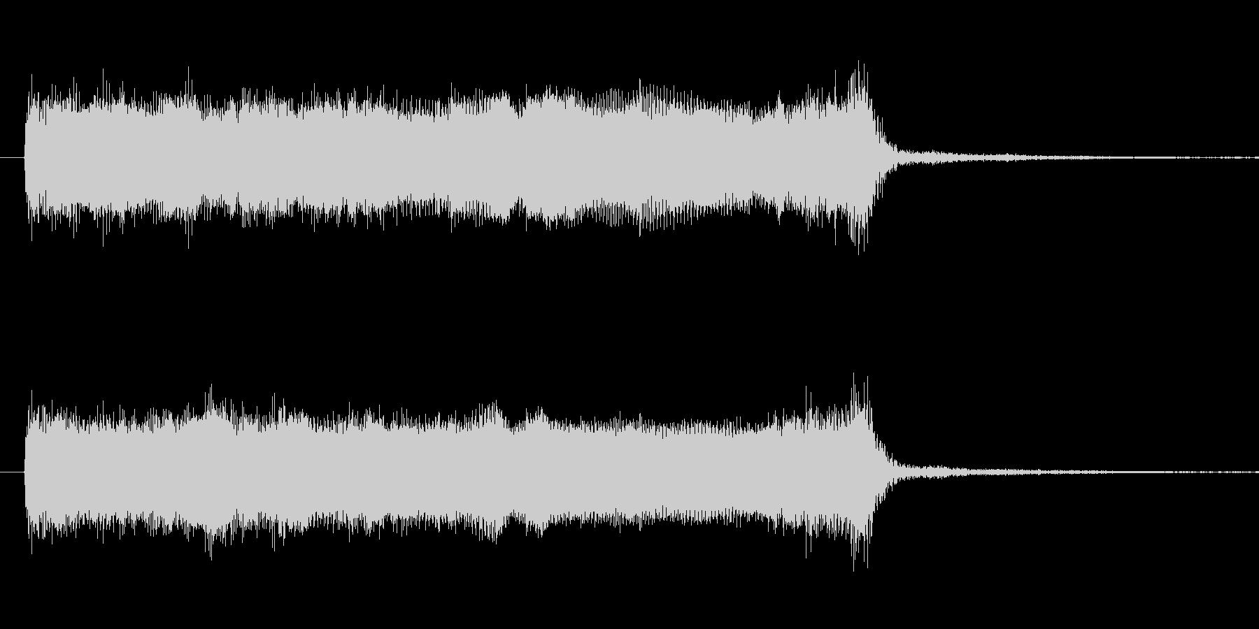ギターダブルチョーキング音 ちょっとし…の未再生の波形