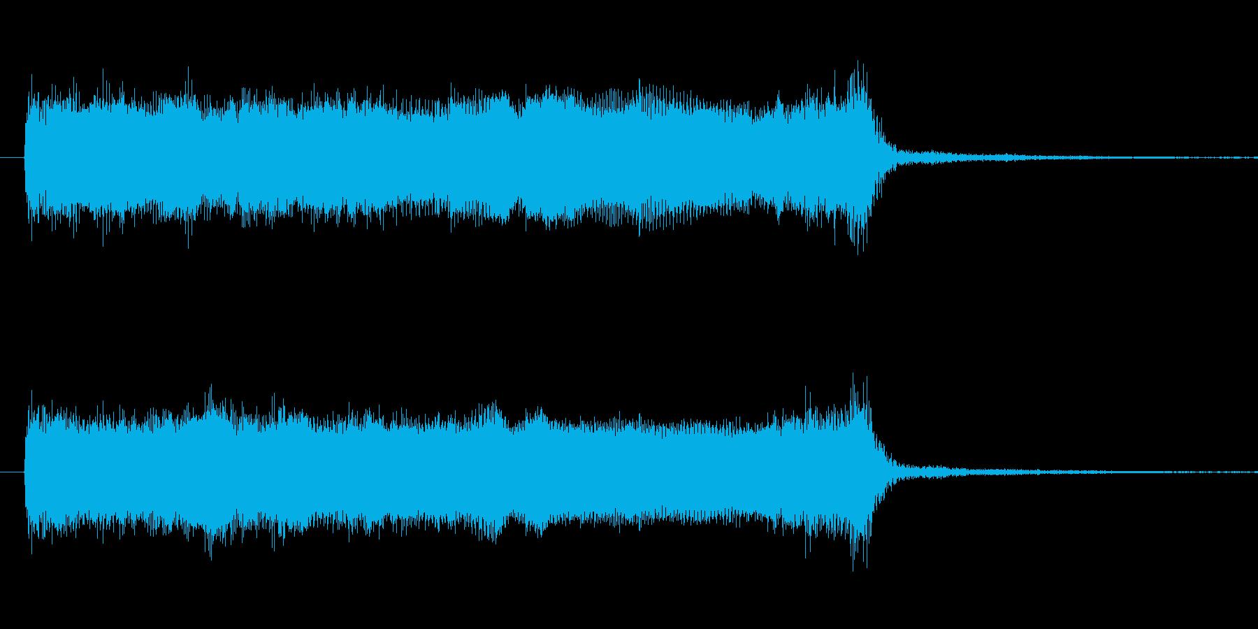 ギターダブルチョーキング音 ちょっとし…の再生済みの波形