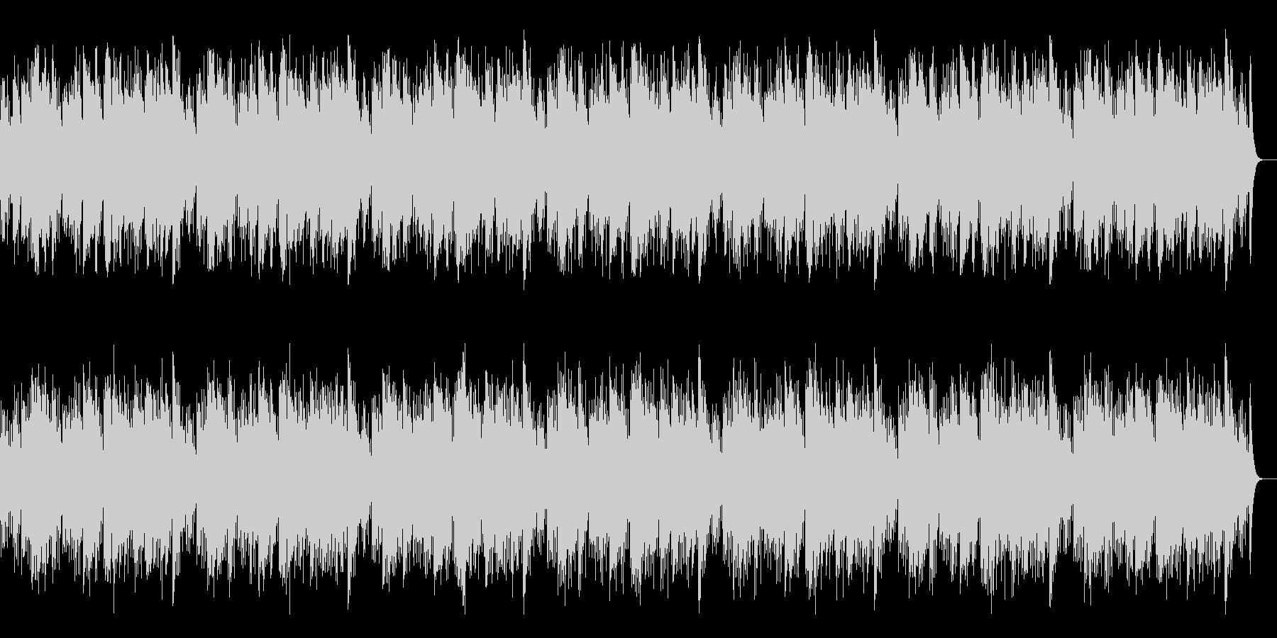 アコギとハーモニカによる「ふるさと」の未再生の波形
