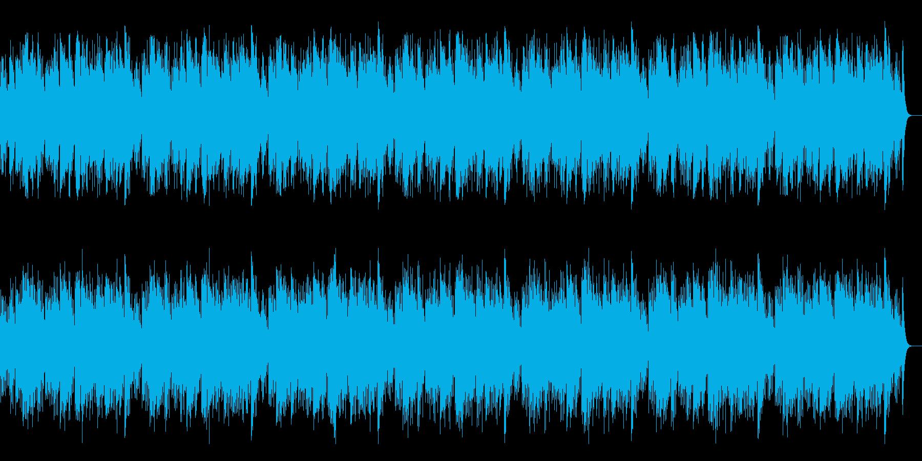 アコギとハーモニカによる「ふるさと」の再生済みの波形