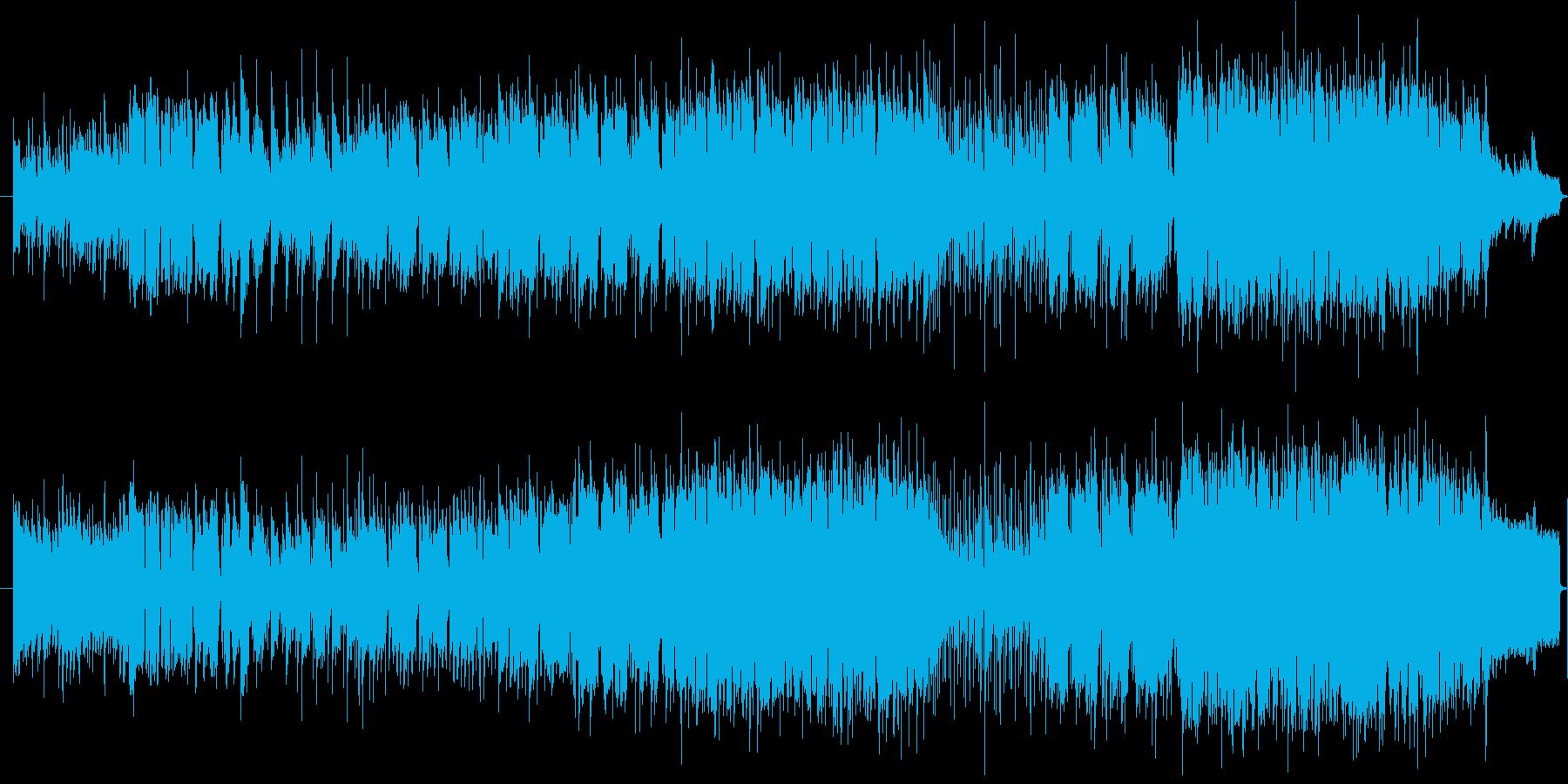 オーソドックスなバラードです。イメージ…の再生済みの波形