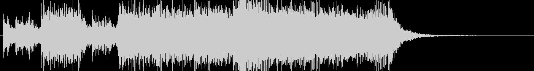 表彰オーケストラファンファーレBGMの未再生の波形