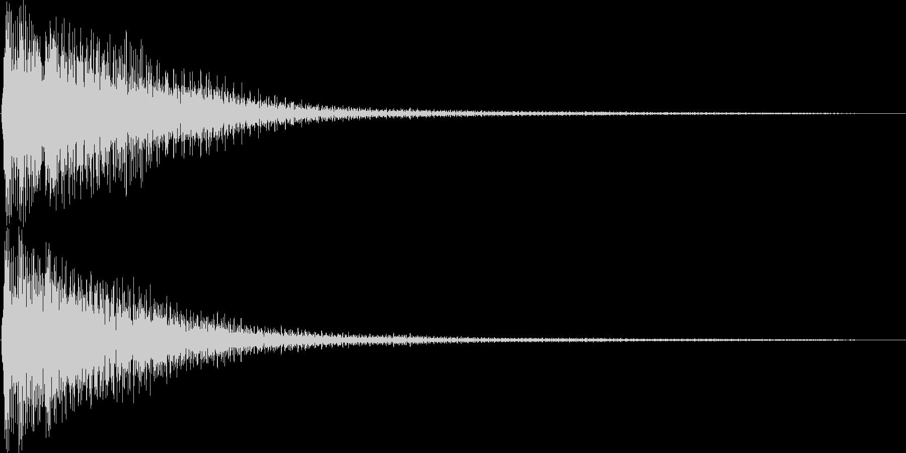 ゲーム(レアアイテム入手、発見)などの未再生の波形