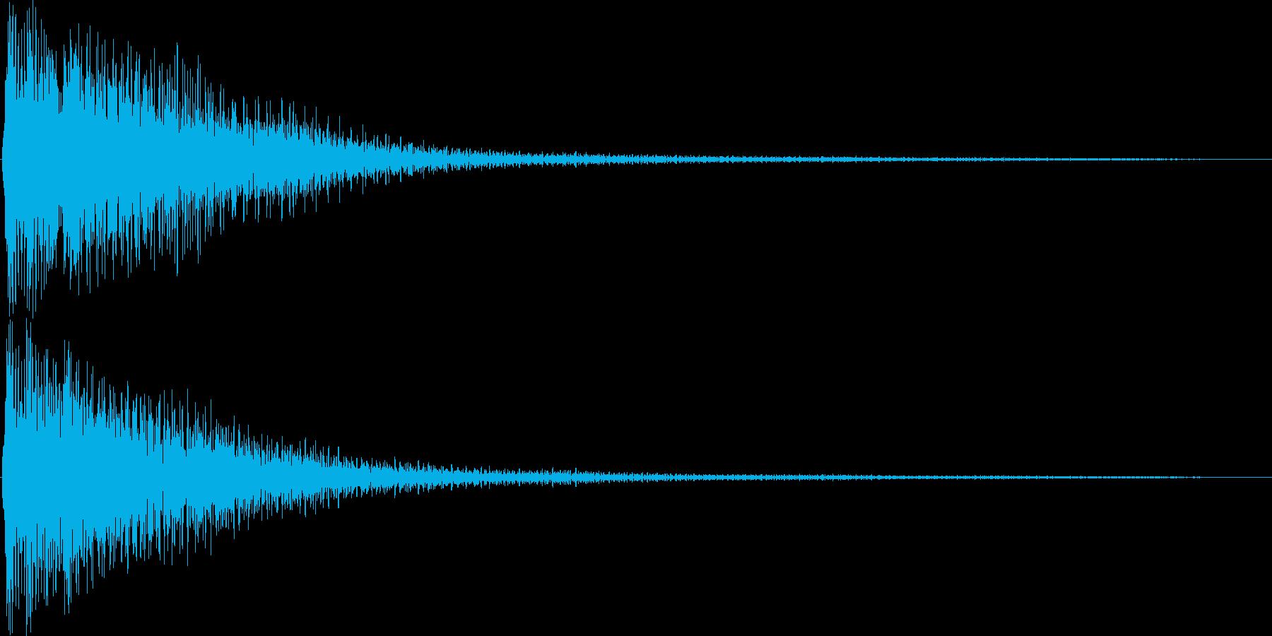 ゲーム(レアアイテム入手、発見)などの再生済みの波形