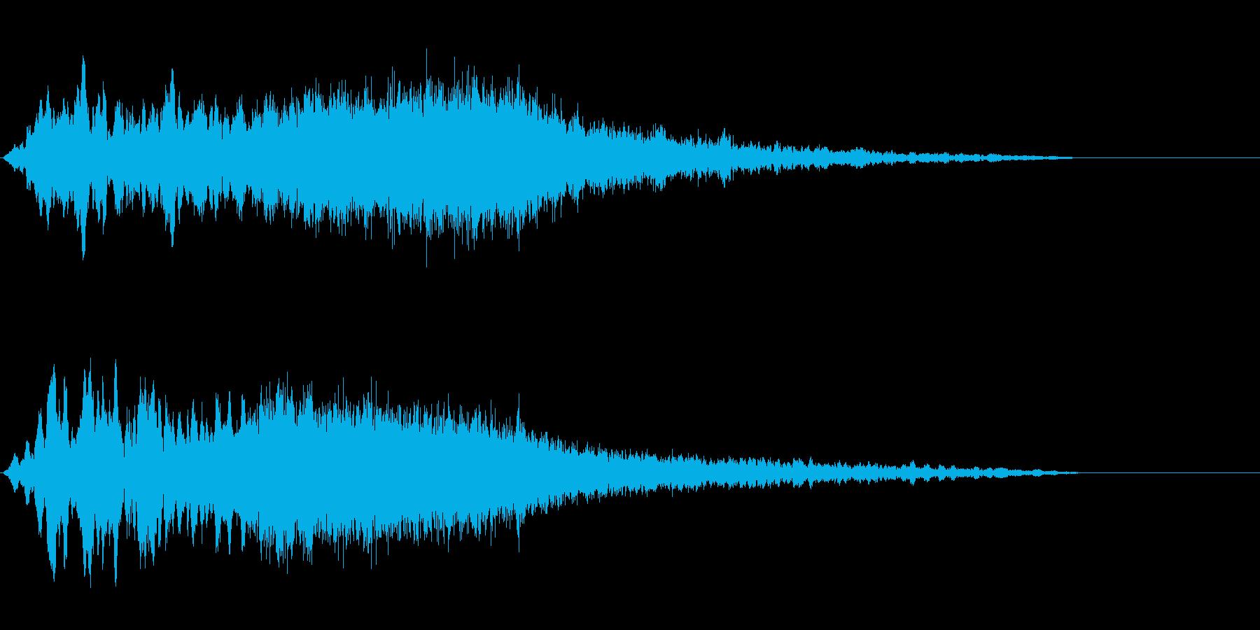 ふぁーん(天使が舞い降りてくるイメージ)の再生済みの波形