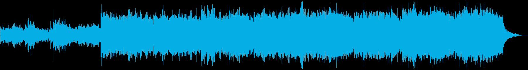 プラネタリウム・夜のシーンで使えるBGMの再生済みの波形