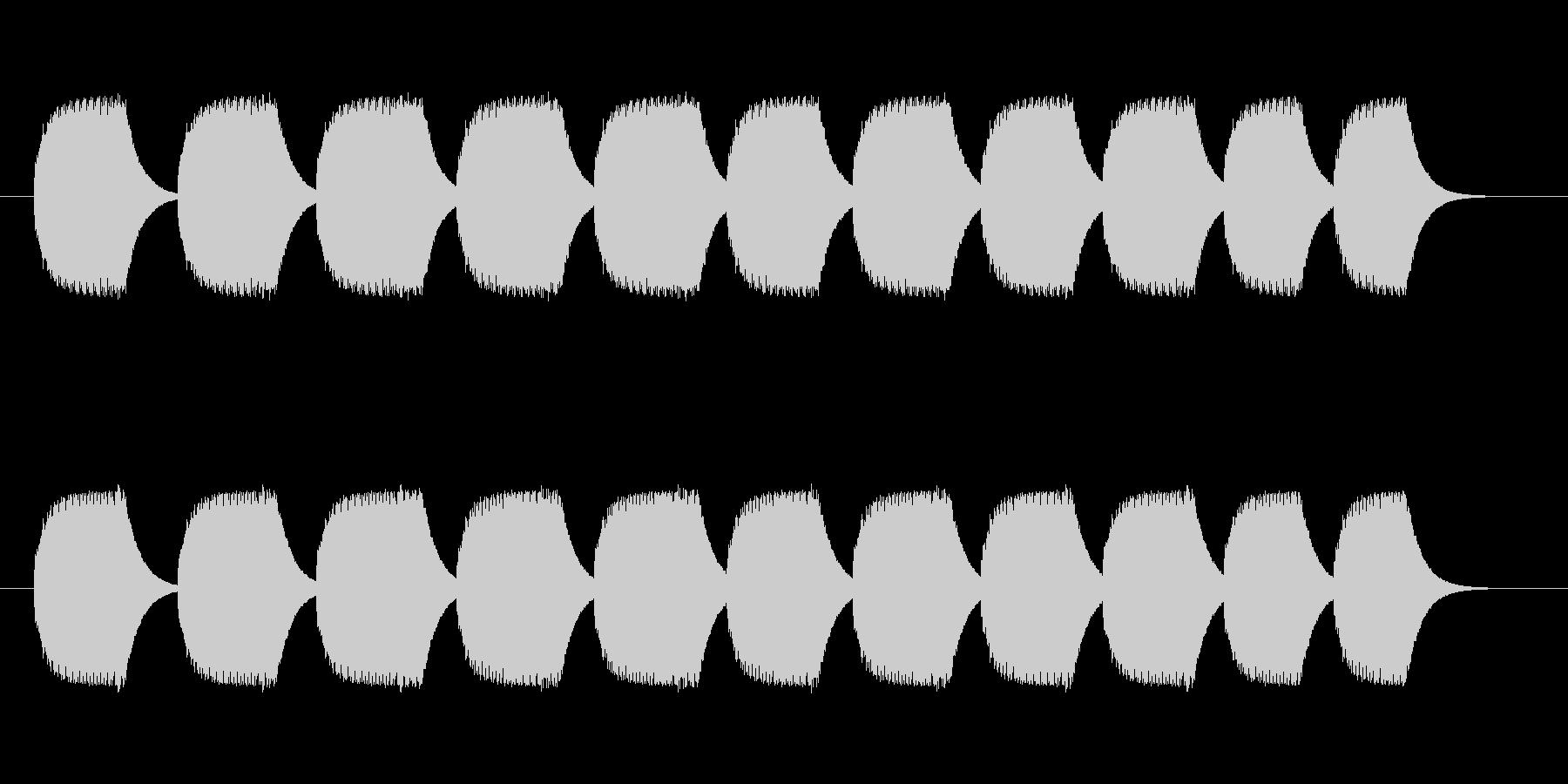 プルル音の未再生の波形