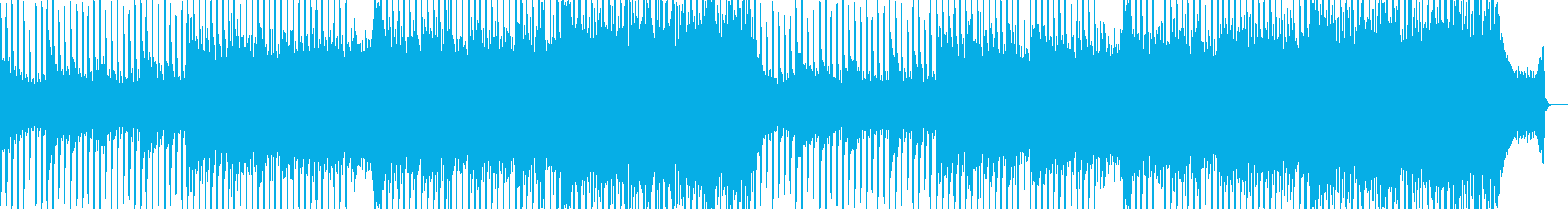 企業VP向け、爽やかポップ4つ打ち11aの再生済みの波形