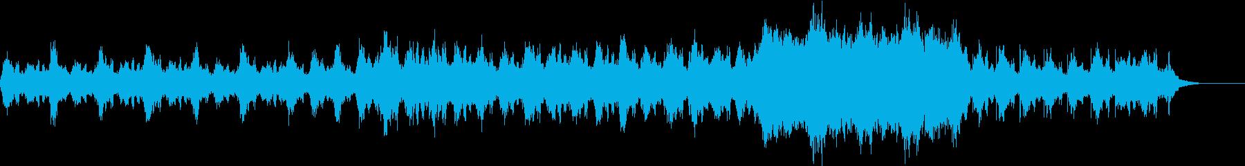 マリンバとシンセが神秘的にゆったり流れるの再生済みの波形