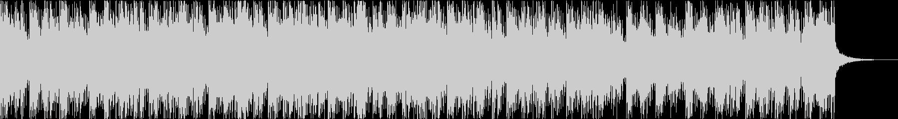 切ないサウンドのギターインストの未再生の波形