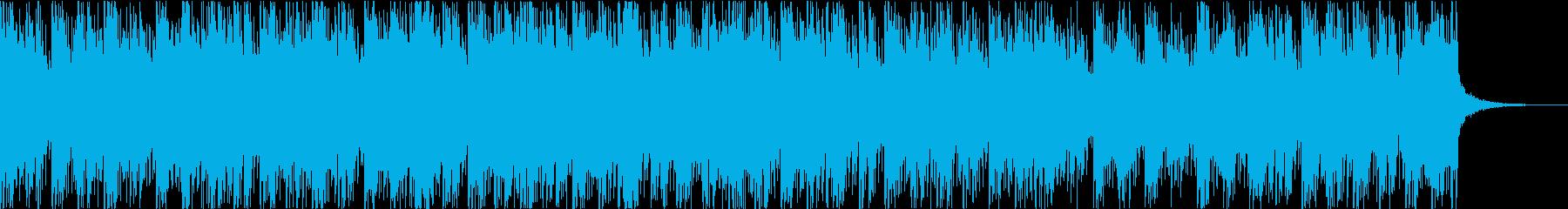 切ないサウンドのギターインストの再生済みの波形
