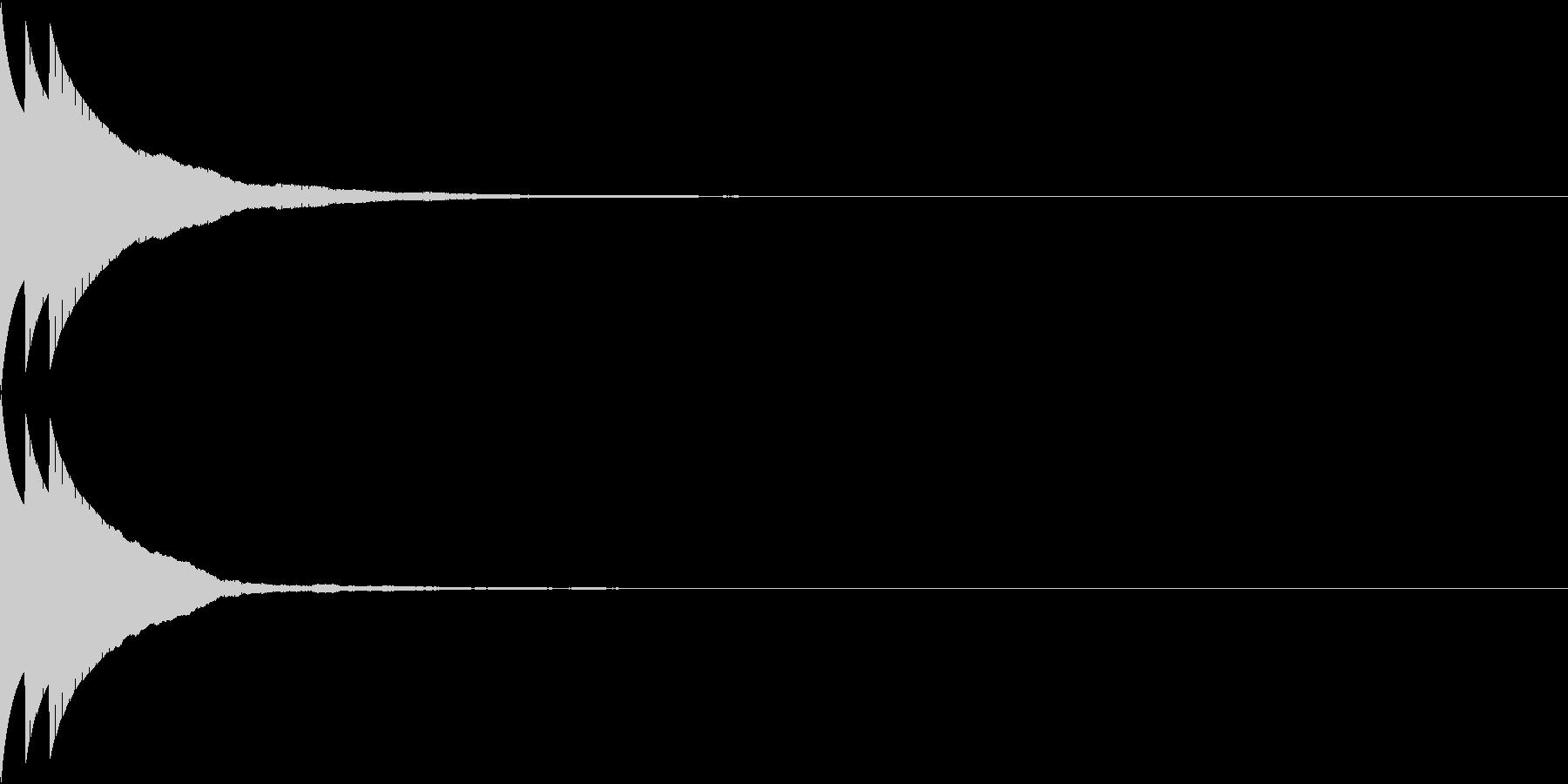 Bank 汎用性のある通知・認証音 8の未再生の波形