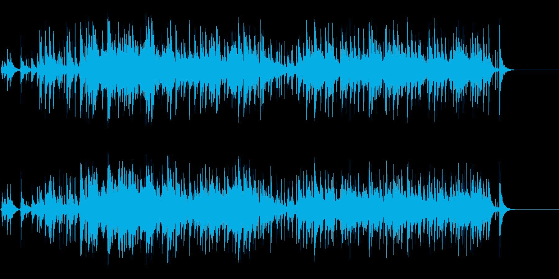 神秘的なポップ/環境の再生済みの波形