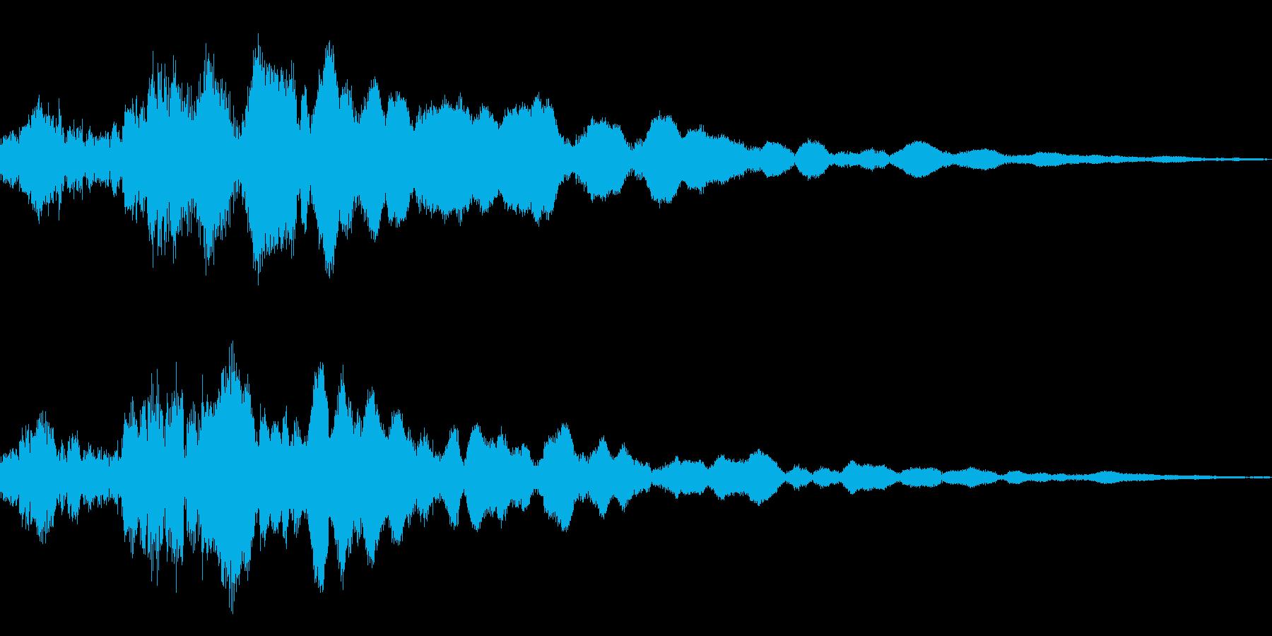 シャキーン☆魔法、星、光などに最適!5Bの再生済みの波形