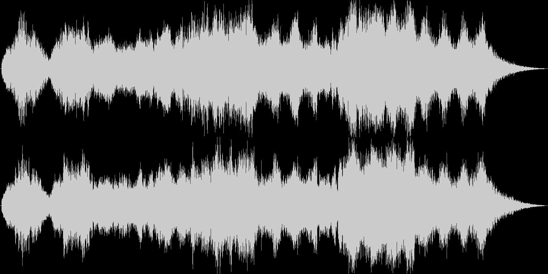 幻想さと気だるさの環境系音楽の未再生の波形