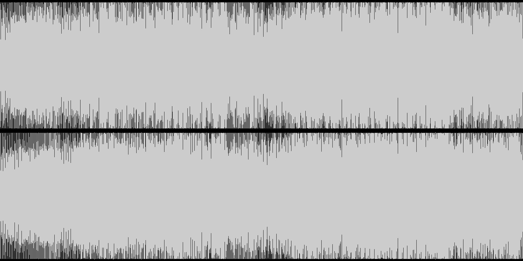 【ループ】空港/滑走路をイメージした戦いの未再生の波形
