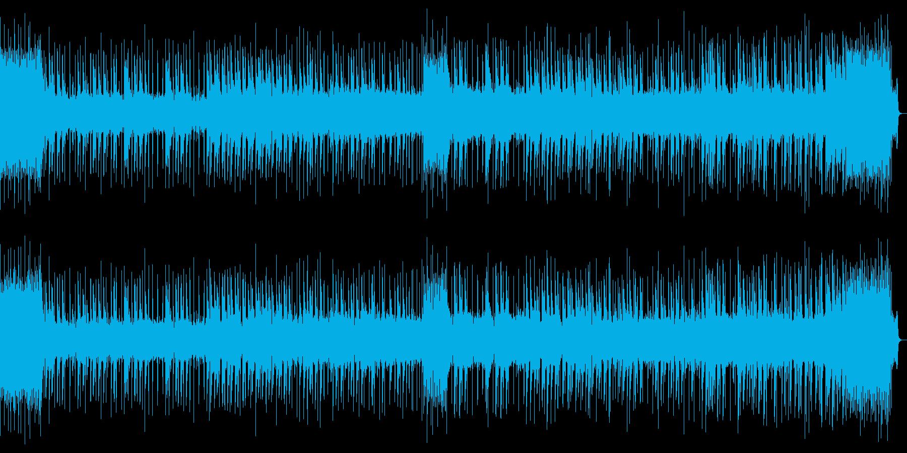 8bit 疾走感のあるチップチューンの再生済みの波形