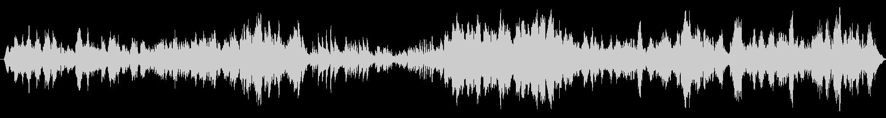 ヴァイオリンとピアノのシンプルな曲ですの未再生の波形