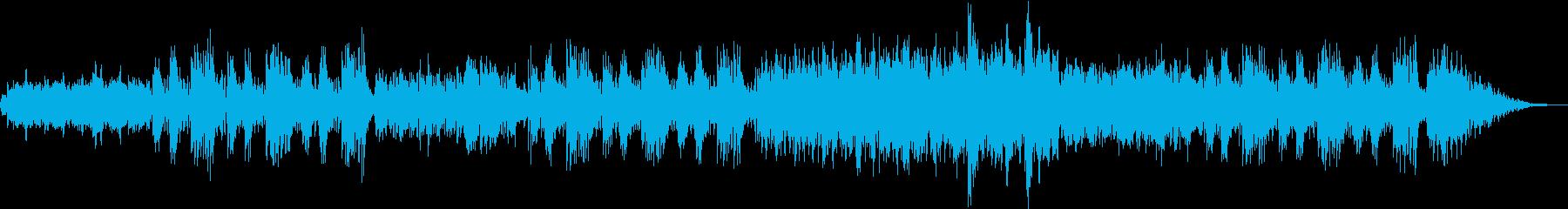 超スイートなムードの優しく切ないボサノバの再生済みの波形