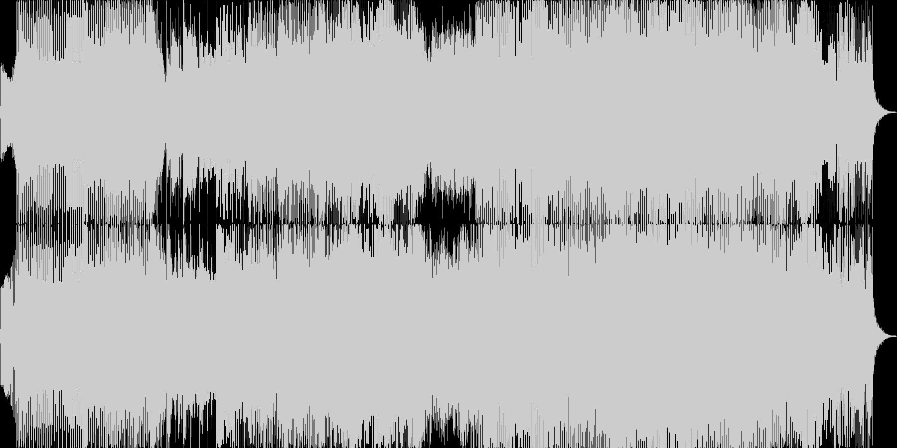 ジャジーでややノリの良いラウンジハウスの未再生の波形
