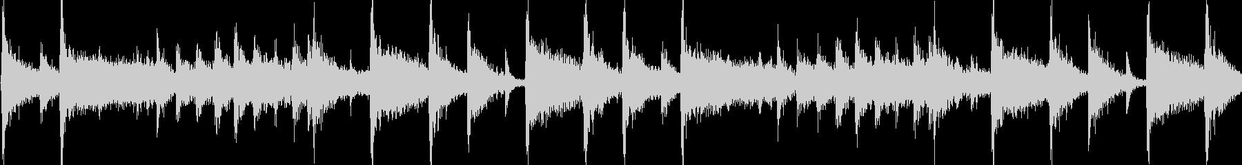 明るく陽気なフュージョンジングル_ループの未再生の波形