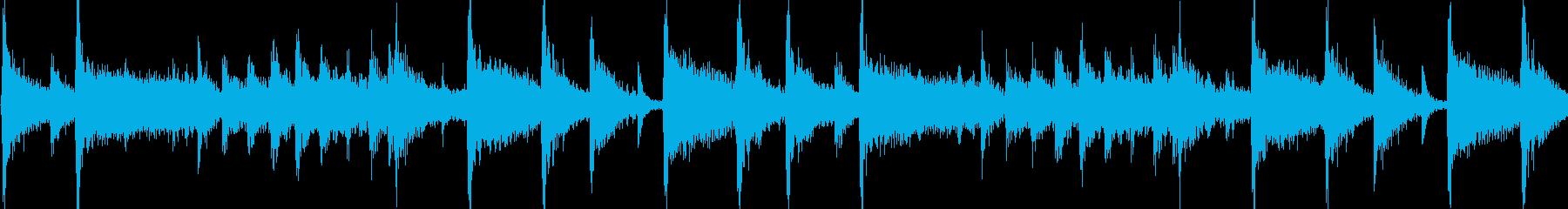 明るく陽気なフュージョンジングル_ループの再生済みの波形