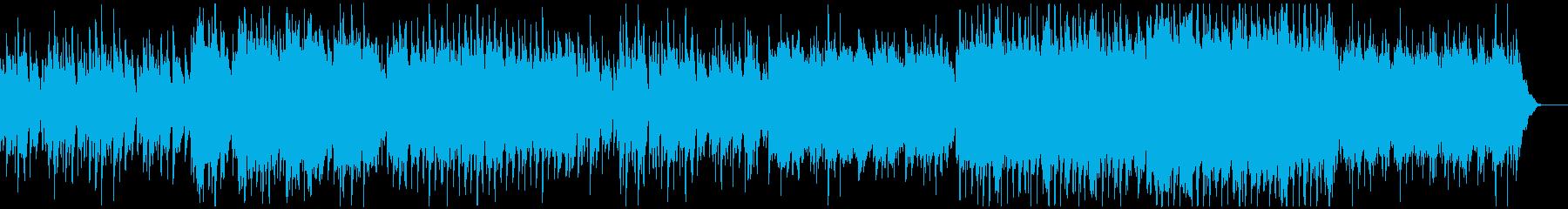 【リズム抜き】まったりとした和風BGMの再生済みの波形