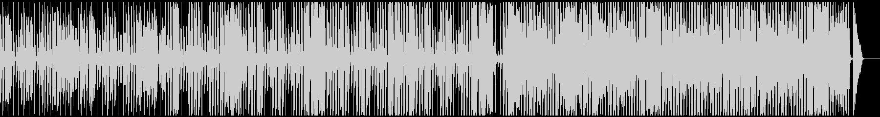 CMに楽しいBGM ピアノ、口笛、手拍子の未再生の波形