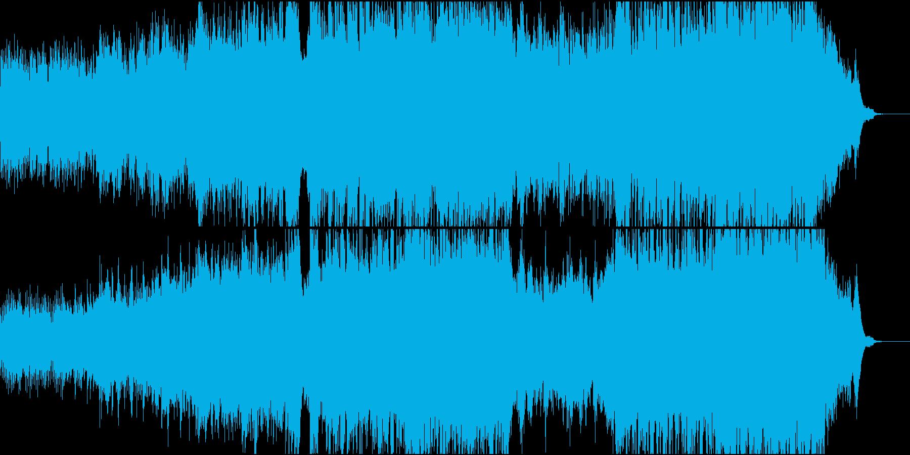 ハリウッド風ピアノ+オケ3TpとTb抜きの再生済みの波形