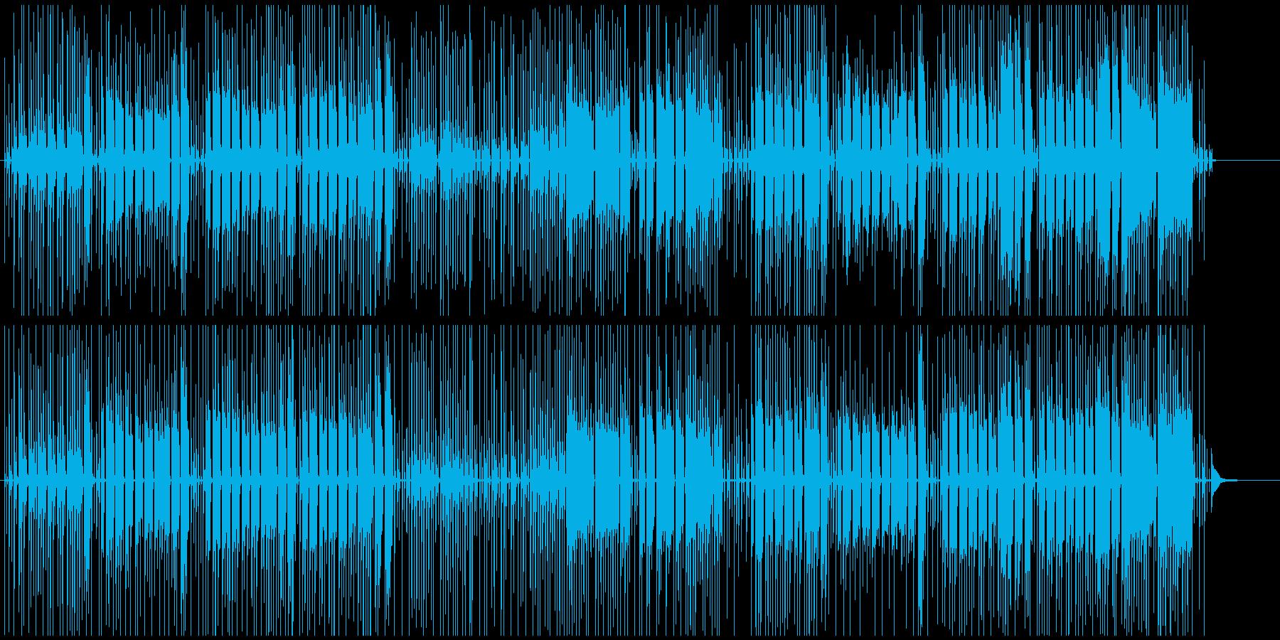 怪しい・はてな・とんちんかんな場面の曲の再生済みの波形