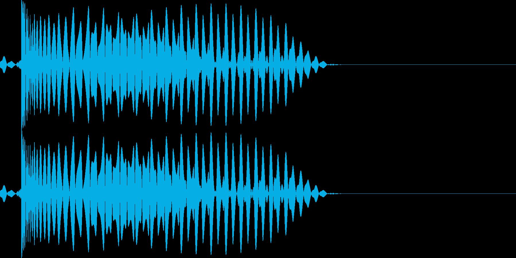 EDMダンス系キー入り【F】キック音ですの再生済みの波形