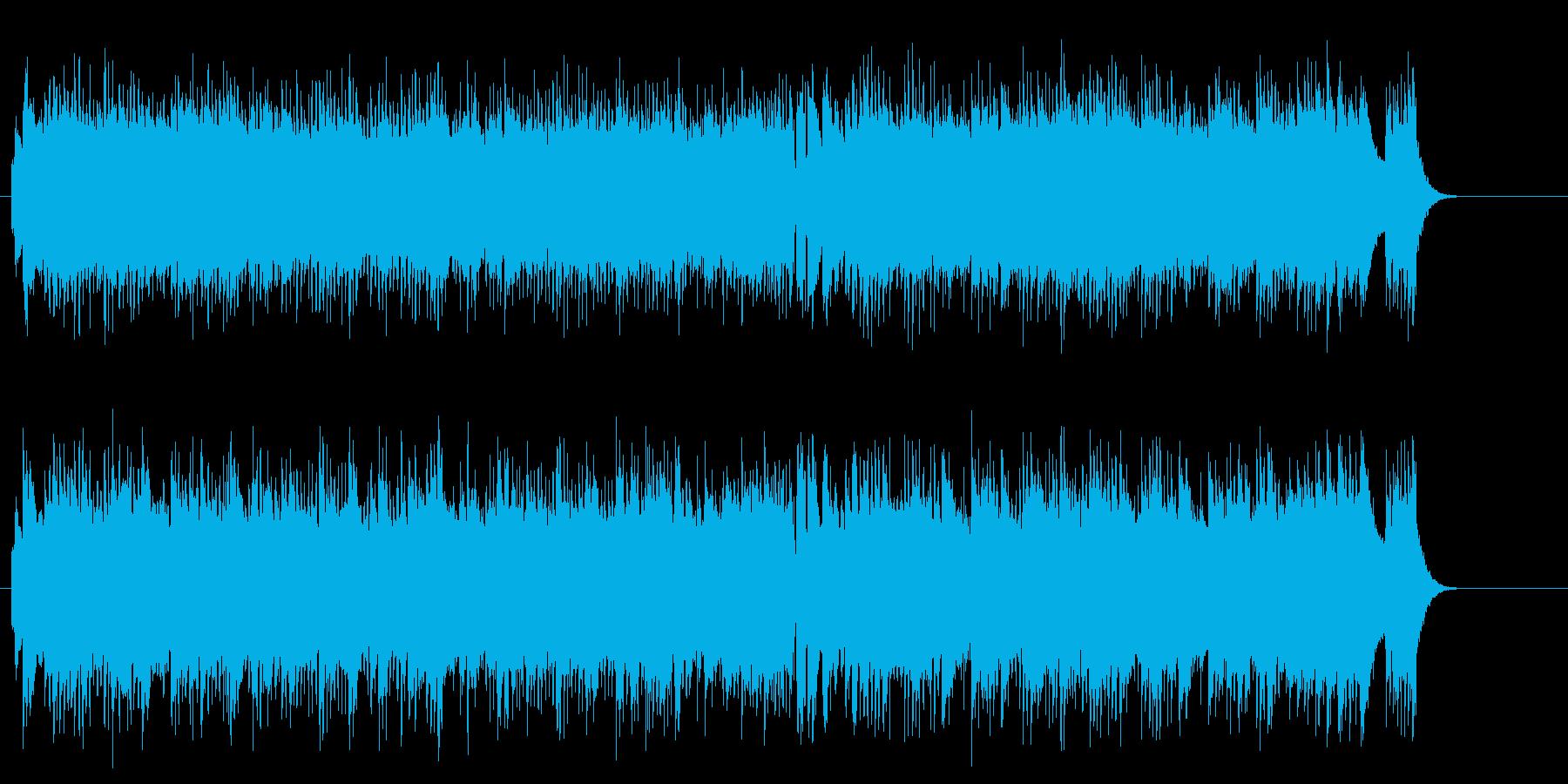 哀愁メロディーのストレート・ポップスの再生済みの波形