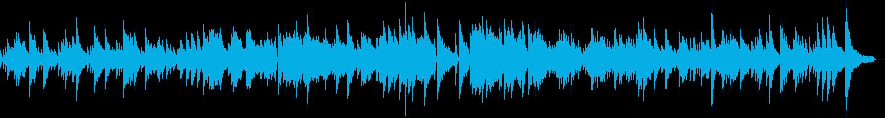 ジャズバラードテーマピアノ生演奏劇伴映像の再生済みの波形