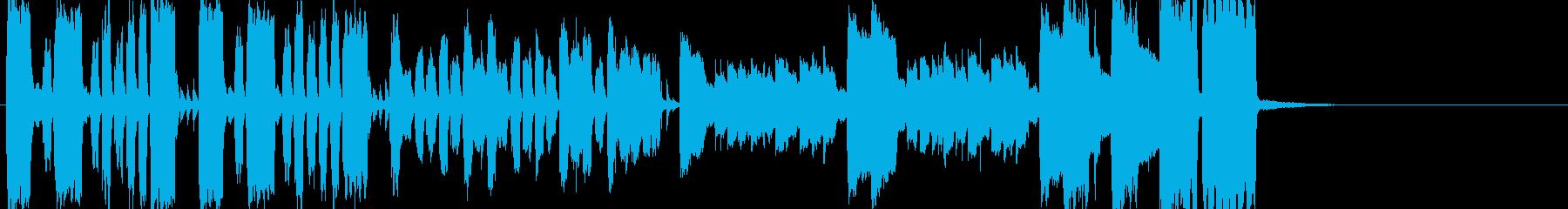 素っ頓狂なアイネクライネナハトムジークの再生済みの波形
