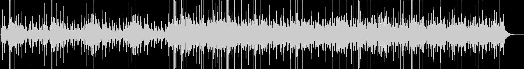 不思議な雰囲気のベルメインの曲の未再生の波形