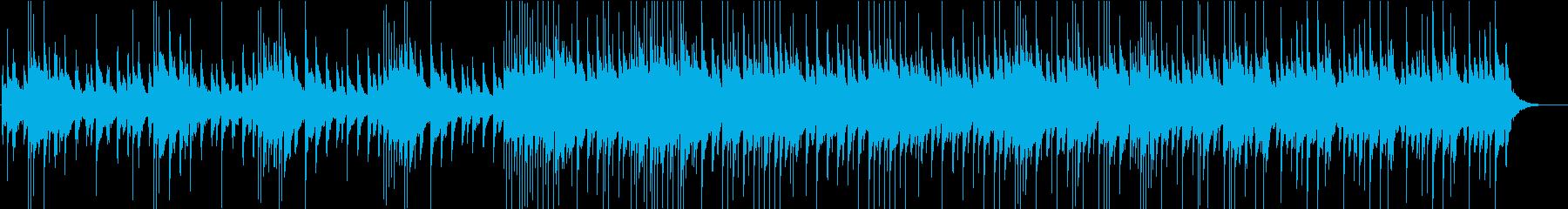 不思議な雰囲気のベルメインの曲の再生済みの波形