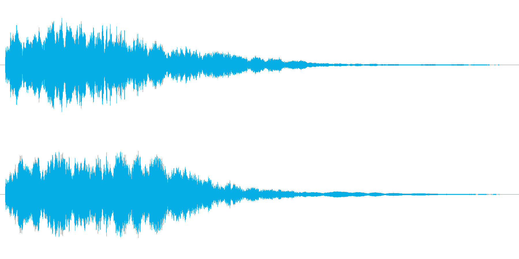 コキカ〜ン (水晶のような美しい音)の再生済みの波形
