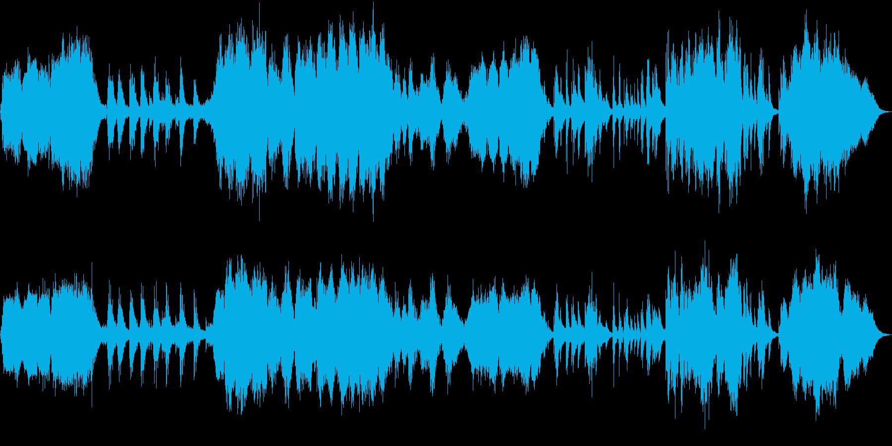 お馴染みの曲を幻想的にアレンジしました。の再生済みの波形