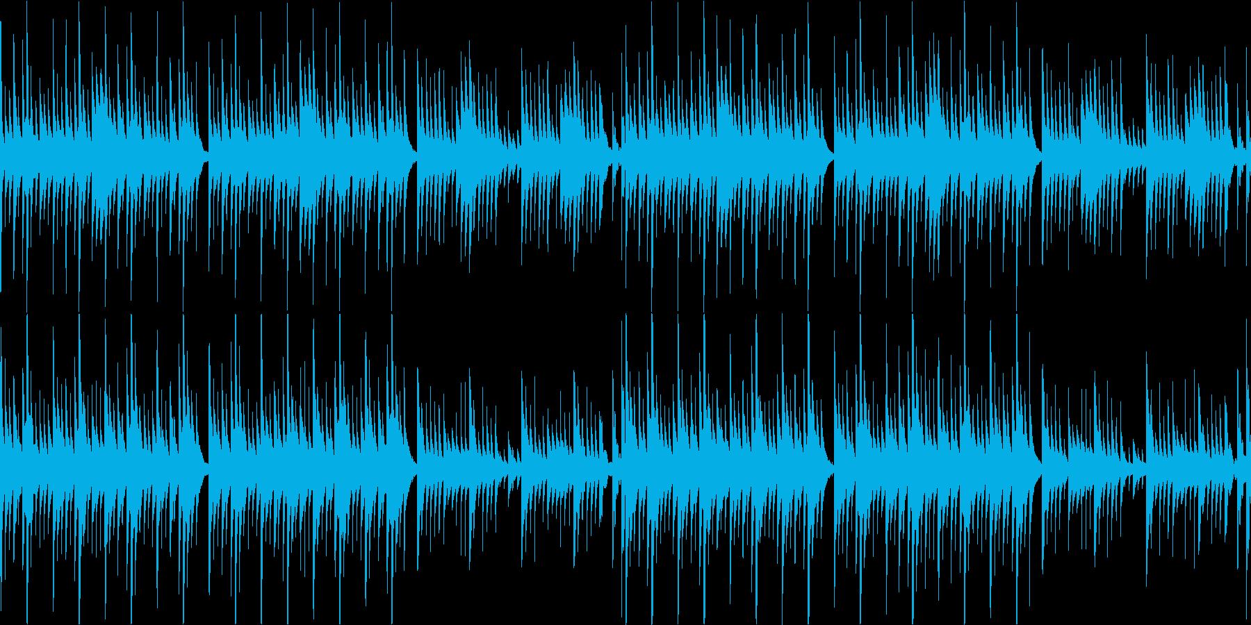 【オルゴール】洋風ホラー/ループ可能の再生済みの波形